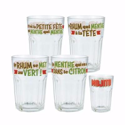 Set de 4 Verres MOJITO Natives