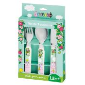 Set de 3 couverts Barbapapa