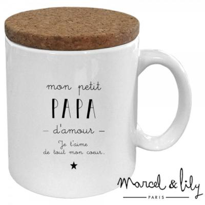 Mug Papa d'amour Marcel & Lily