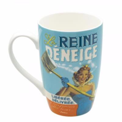 MUG NATIVES la reine déneige