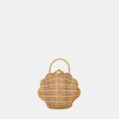 Sac coquillage rottin naturel - Olli Ella