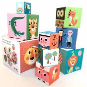 Lot de 10 cubes, Angela P. Arrhenius - OMM Design