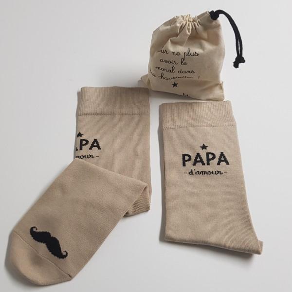 performance fiable sélectionner pour officiel les mieux notés dernier Chaussettes Papa d'amour - SERIE LIMITEE - Marcel & Lily