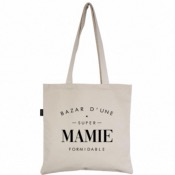 Tote bag Bazar d'une super mamie formidable - Marcel&Lily