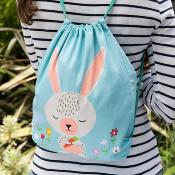 "Sac à cordonnet ""Daisy the Rabbit"""