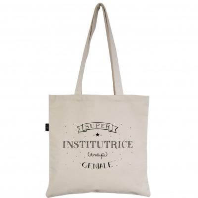 Tote bag  super institutrice - Marcel&Lily