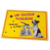 Tapis de gamelle toutous flingueurs NATIVES
